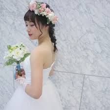 ウエディングドレスにピッタリな髪型はコレ一生の思い出作りhair