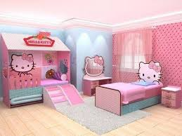 bedroom decoration. Adorable Hello Kitty Bedroom Decoration A