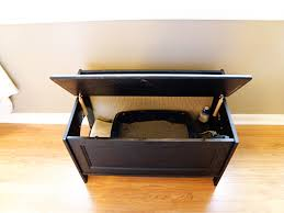 covered cat litter box furniture. Great A Look Inside In Cat Litter Box Furniture Covered