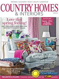 Interior Design Magazine Pdf Fascinating Country Homes Interiors April 48 Download PDF Magazines