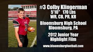 2012 colby klingerman junior year football highlight film 2012 colby klingerman junior year football highlight film recruiting tape