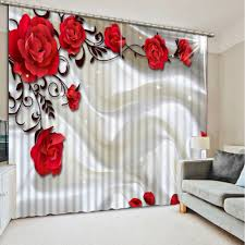 Red Bedroom Curtains Popular Bedroom Curtains Classic Red Buy Cheap Bedroom Curtains