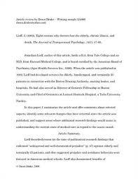 research critique gravy anecdote research critique