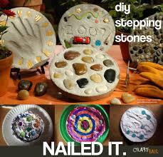 Diy Stepping Stones Epic Stepping Stone Craft Fail Craftfail