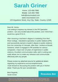 Resume Outstanding Resumer Letter Examples Pr Example
