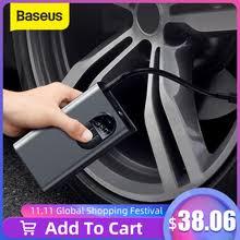 Baseus <b>Portable</b> Inflator Pump Car Air Compressor <b>Smart Digital</b> ...
