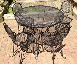 painting wrought iron furniture. Medium-size Of Enchanting Image Wrought Iron Patio Furniture Craigslist Painting