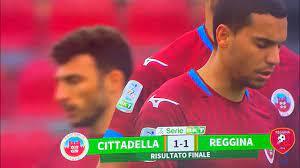 Cittadella - Reggina 1-1 gol and highlights - YouTube