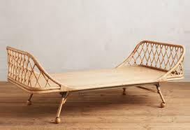 modern rattan furniture. anthropologie pari rattan daybed modern furniture e