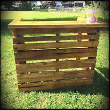 skid furniture ideas. Patio Ideas Skid Outdoor Furniture Diy Pallets Oak Pallet Garden Bar For Fathers Day N