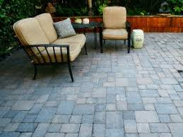 patio pavers over concrete. Concrete Paver Patio Pavers Over W