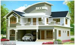 beautiful contemporary house design kerala style floor plan