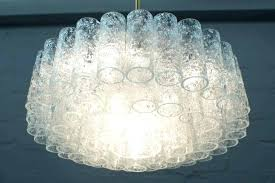 odeon crystal chandelier helix glass