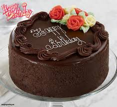 Birthday Chocolate Cakes With Name Happy Cake Images Editor Edit