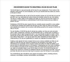 28 30 60 90 Day Plan Templates Pdf Doc Free Premium