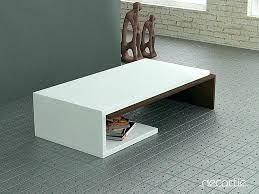 modern white coffee table high gloss swivel with storage australia