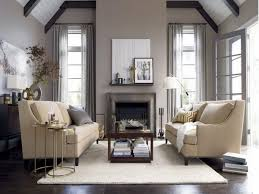 Vaulted Living Room Decorating Adorable Living Room With Vaulted Ceiling And Gray Color Scheme