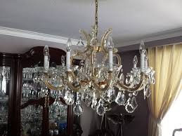 chandelier cleaning photo gallery
