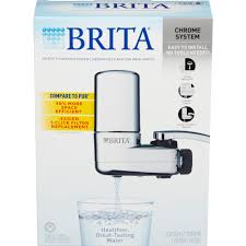How To Filter Water At Home Brita On Tap Faucet Water Filter System Chrome Walmartcom