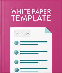Free White Paper Template White Paper Template Hatchbuck