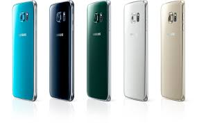 samsung galaxy s6 colors. galaxy s6s in different color stand side by samsung s6 colors