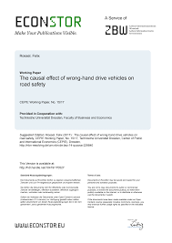 The causal effect of wrong-<b>hand drive</b> vehicles on road safety