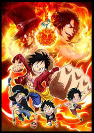 amazon w artwork one piece portgas d ace poster fire punch luffy new world prints wall decor wallpaper home kitchen