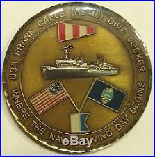 Hooyah Navy Challenge Coin