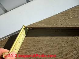 loose siding at house gable end c daniel friedman e galow