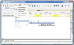 schedule creater clockit easy schedule creator 7 1 free download freewarefiles com
