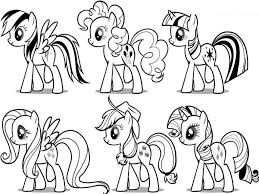 Adult Coloring Pages Of My Little Pony Friendship Is Magic My Little
