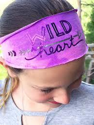 easy diy headband made from a t shirt