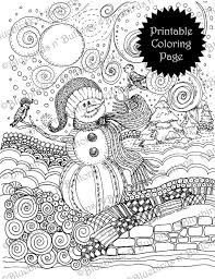 Welcome 2020 with these printable coloring pages! Coloring Page Printable Coloring Page January Coloring Etsy