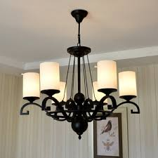 cheap rustic lighting. 6-Light Black Color Country Rustic Chandeliers With 0-39W Cheap Lighting