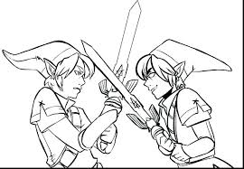 Zelda Coloring Page For Kids The Legend Of Coloring Pages Printable