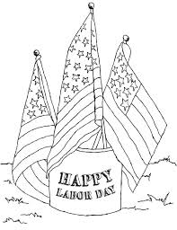 Small Picture American Labor Day Coloring Page Color Luna