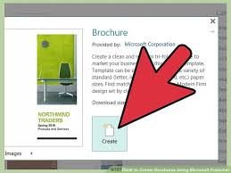 How To Do A Brochure On Microsoft Word 2007 How To Create Brochures Using Microsoft Publisher 11 Steps