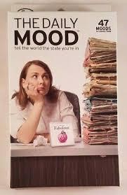 Emoji A Day A Daily Mood Flip Chart Fred The Daily Mood Desk Flipchart Book Office Joke Emojis Feelings Calendar Ebay