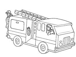 Free Coloring Pages Trucks Letscoloringpagescom Fire Free Printable