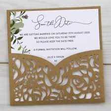 Save The Date For Wedding Save The Date Cards With Envelopes Pure Invitation Wedding