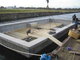 Floating Home Manufacturers Houseboat Custom Designed By Dirkmarine Build On A Concrete Hull