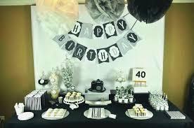 40th Birthday Party Ideas For Husband Birthdaycakeformancf