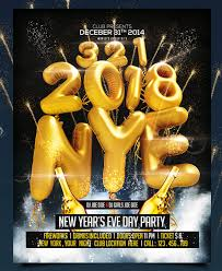 Beautiful Free New Years Eve Flyer Template Collection ...