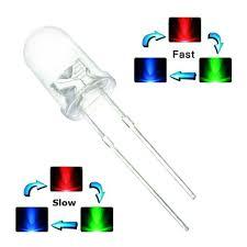 Fast Blinking Light Amazon Com Leyal 1000pcs Fast Slow Colour Changing Blinking