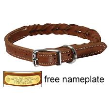 puppy and small dog collars free id plates