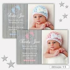 Boy Or Girl Baby Announcement Details About Personalised New Baby Boy Girl Birth Announcement Thank You Cards