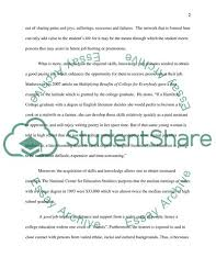 College Education Essay Is A College Education Worth The Time And Money Essay