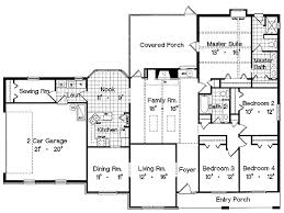 Three Bedroom Ranch House Plans  NrtradiantcomHouse Plans Ranch