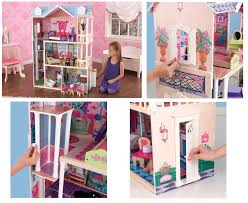 cheap doll houses with furniture. KidKraft My Dreamy Doll House Cheap Houses With Furniture