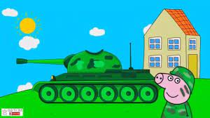 Ô tô hoạt hình mới nhất - Lắp ráp xe tăng chiến đấu, cần cẩu máy xúc   Xe  tăng, Hoạt hình, Ô tô